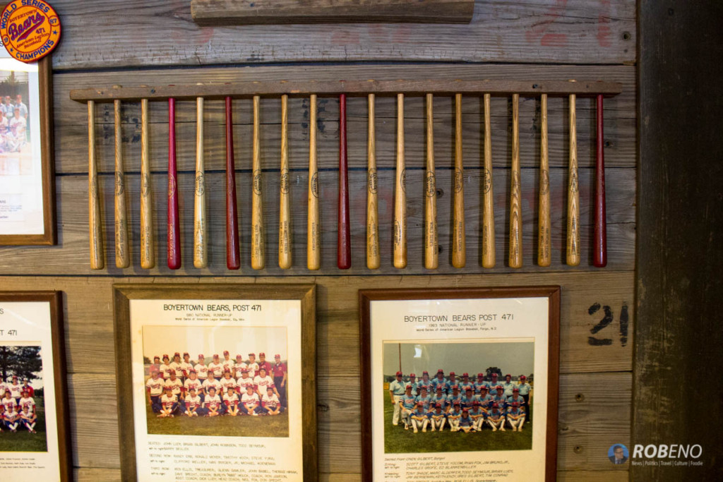 Photo: Boyertown Bears Legion World Series Memorabilia, ©Rob Eno, 2015