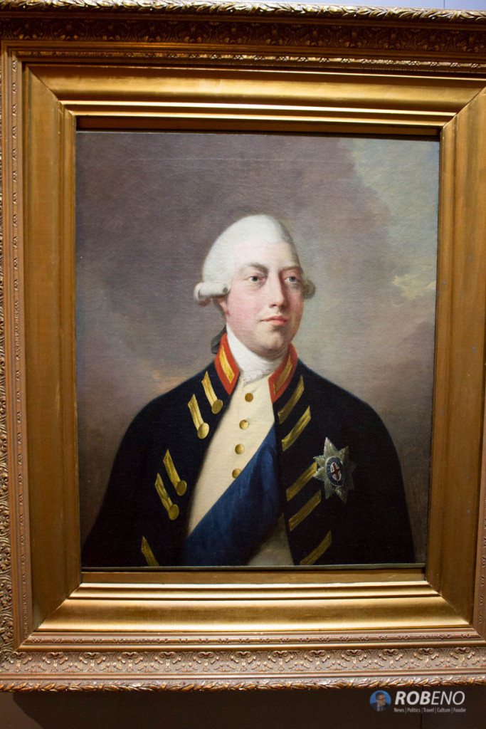 Photo: King George III at Washington Headquarters Museum, ©Rob Eno 2015