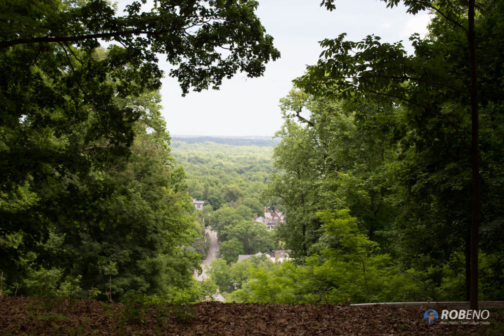Photo: View East from Site of Fort Nonsense, Morristown, NJ ©Rob Eno 2015